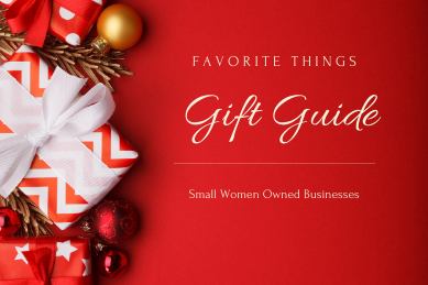 Small Women-Owned Businesses Gift Guide