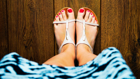 How to get your feet sandal ready