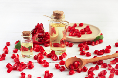 Four Benefits of Pomegranate Oil