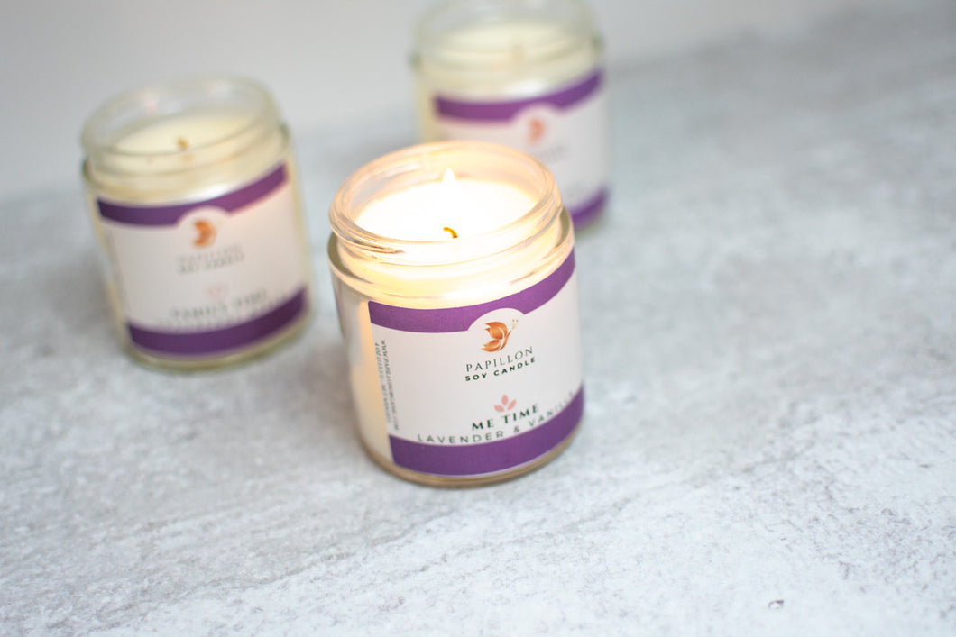Scented Soy Candles Gift Set