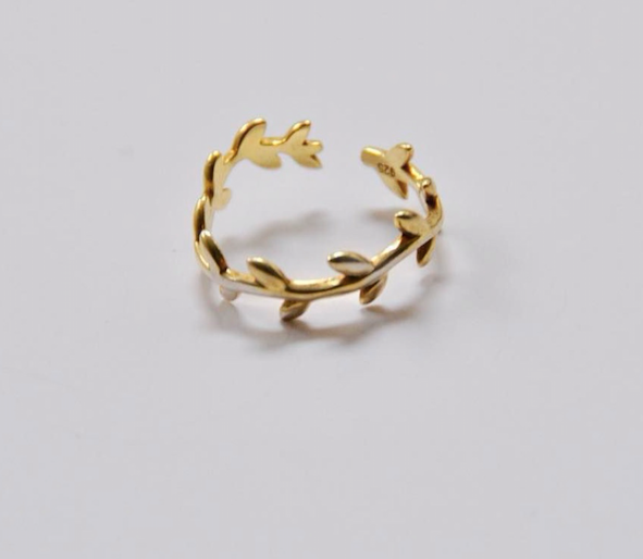 Anillo Laurel Gold
