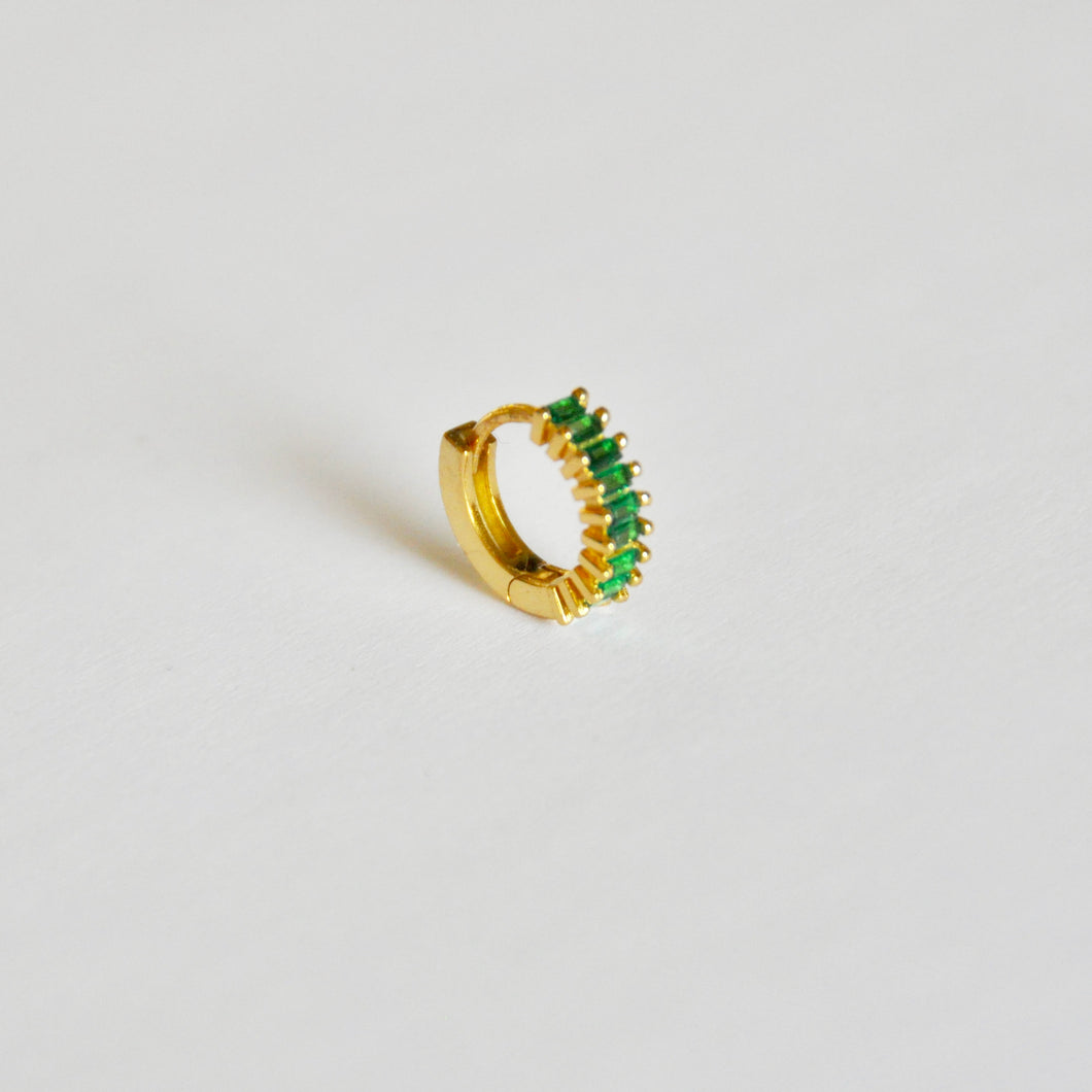 Hoop Green Gold