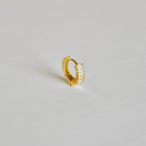 Hoop White Gold