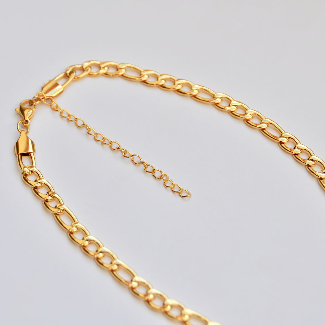 Choker Acero Strong Vintage Gold