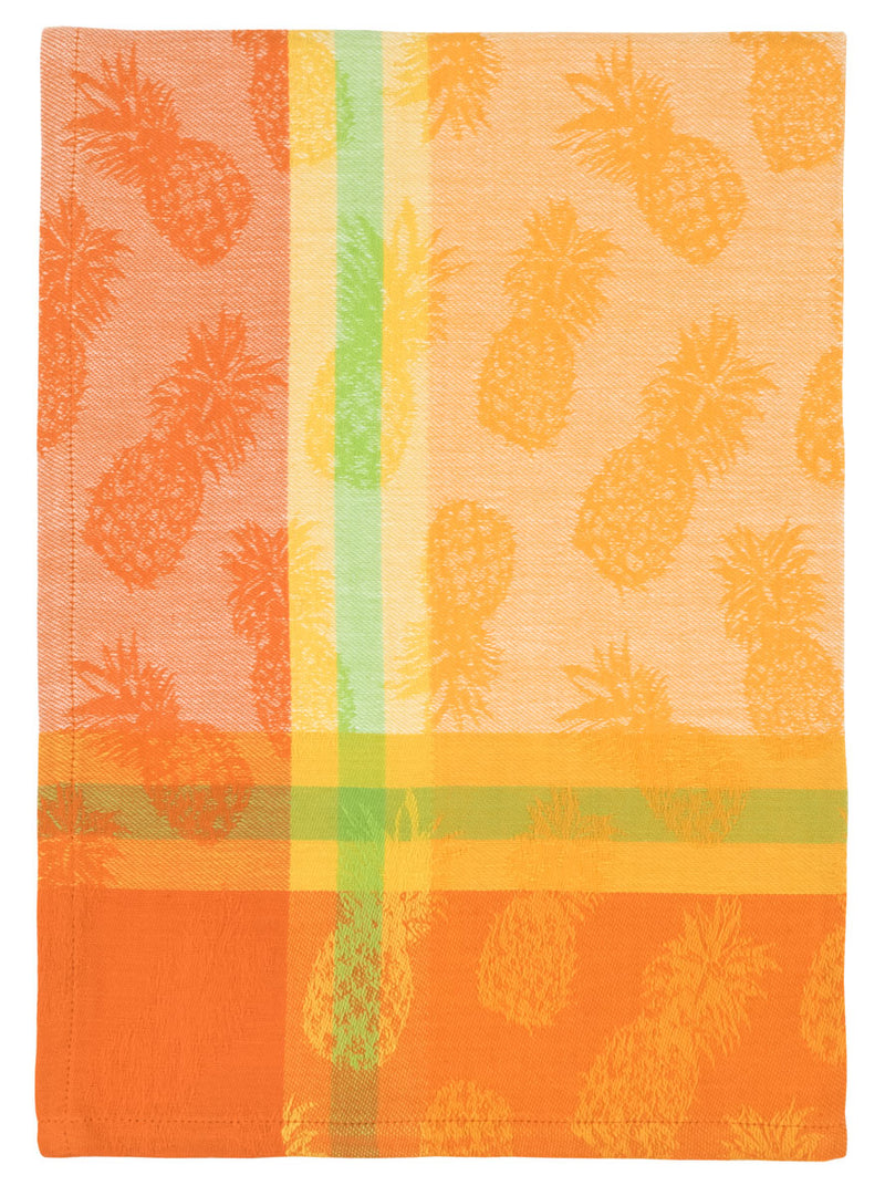 Citrus Pineapple Jacquard Dish Towel