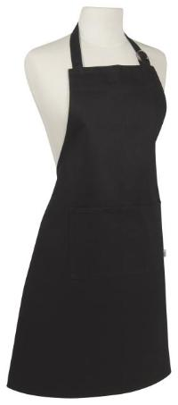Heavy Black Cotton Apron