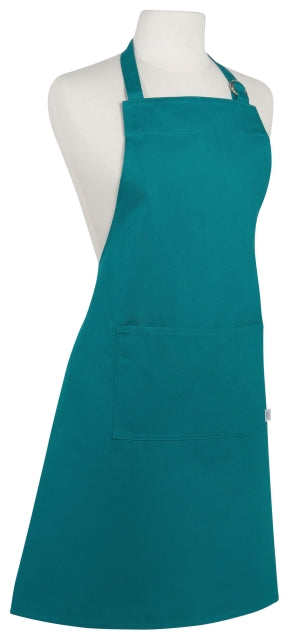 Heavy Teal Cotton Apron