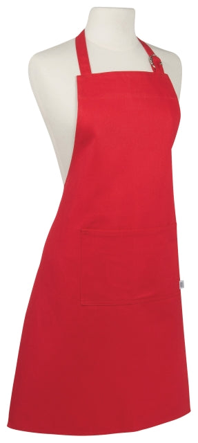 Heavy Red Cotton Apron