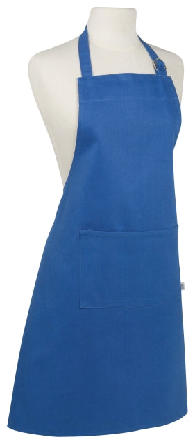 Royal Blue Cotton Apron