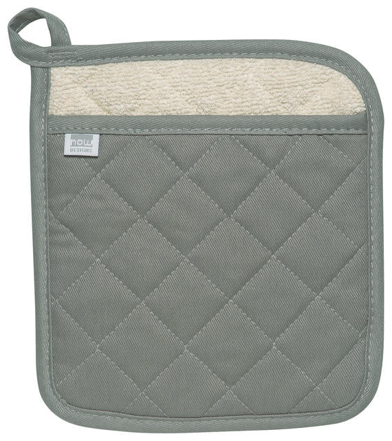 Heavy Duty Cotton Gray Potholder
