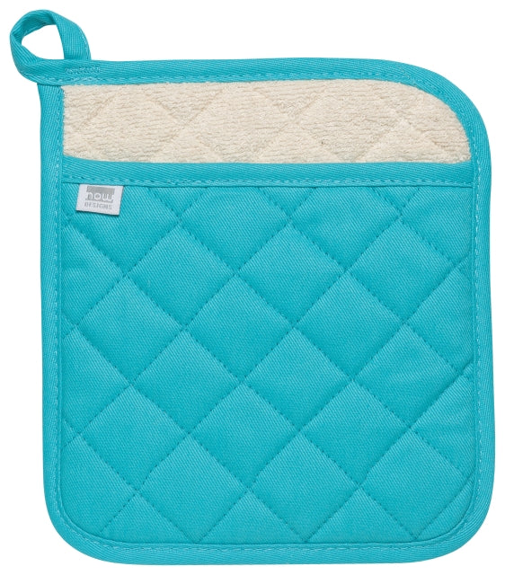 Heavy Duty Cotton Turquoise Potholder