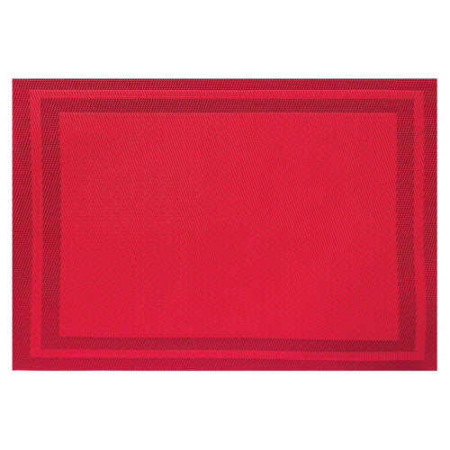 Red Poly Placemat