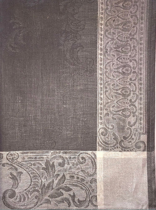 Russian Linen Gray Kitchen Towel