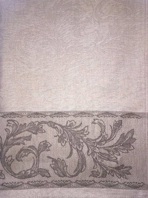 Russian 100% Linen Gray Dish Towel