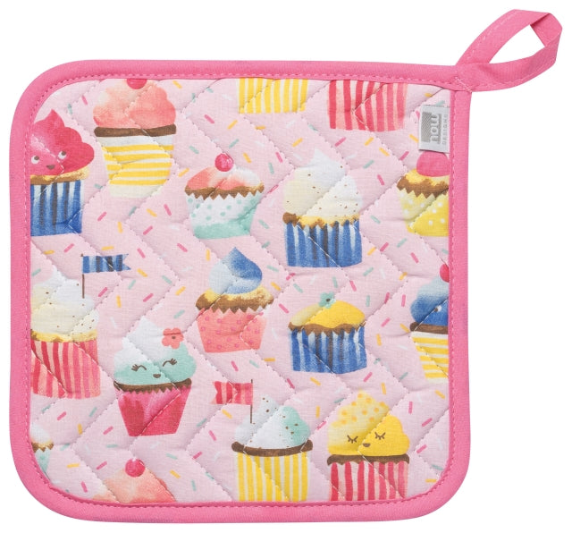 Cupcakes Cotton Potholder