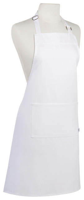 White Cotton Chefs Apron