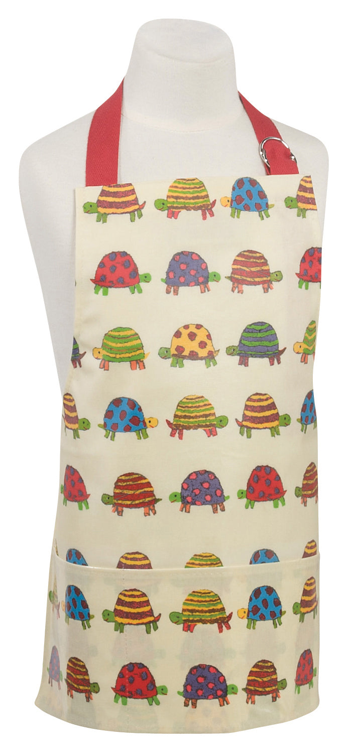 Tiny Turtles Laminated Childs Apron