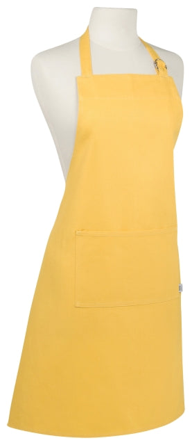 Heavy Cotton Lemon Yellow Apron