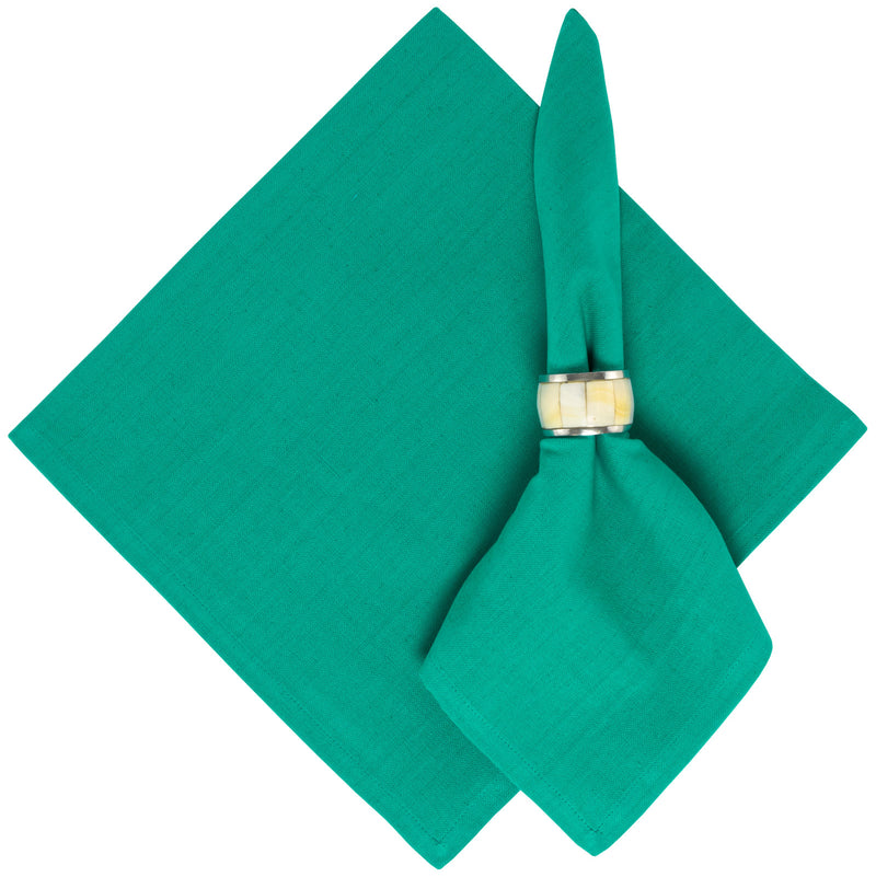 Solid Turquoise Cotton Napkin