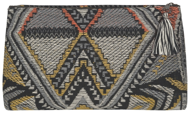 Large Tapestry Clutch Bag