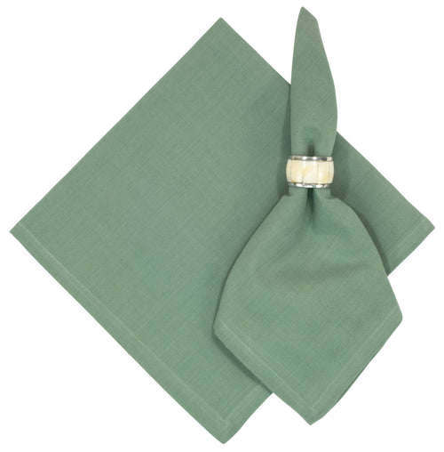 Clover Green Solid Cotton Napkin