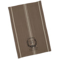 Brown French Grain Sack Dish Towel