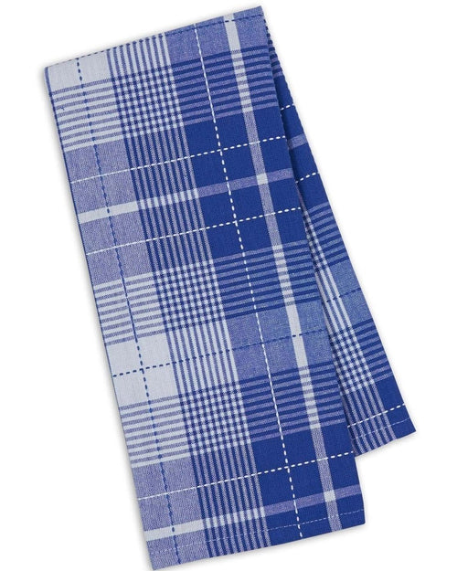 Blue Plaid Dish Towel