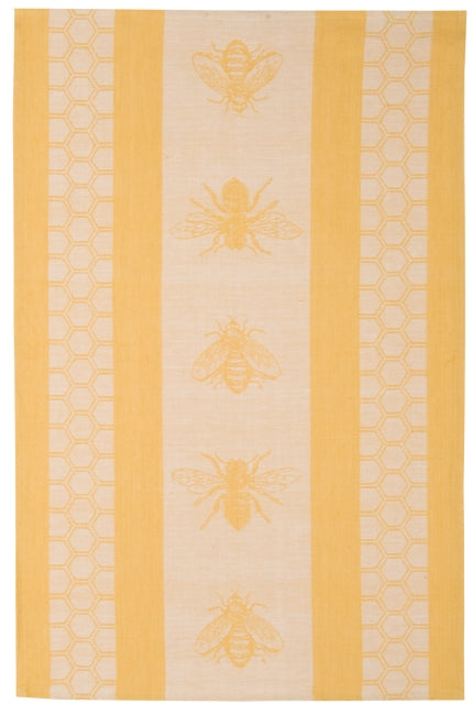 Yellow Honeybee Dish Towel