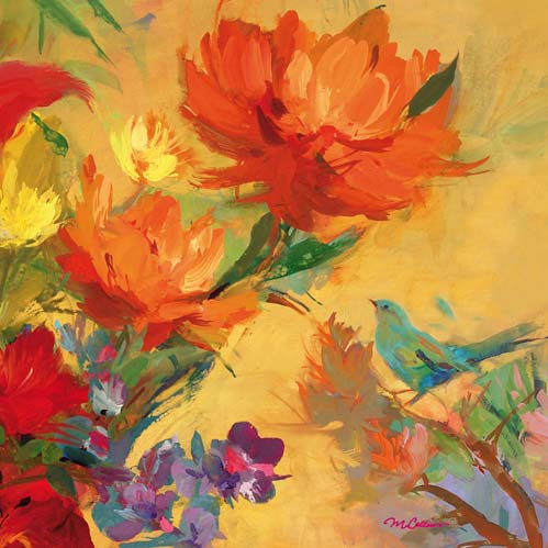 Giverny Garden Lunch Napkins