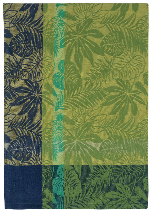 Blue Green Jungle Dish Towel
