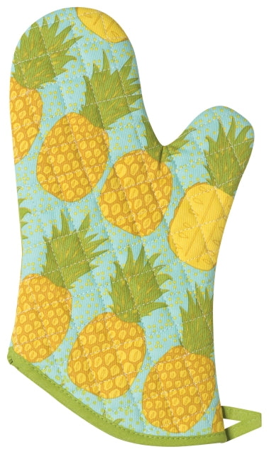 Pineapple Cotton Oven Mitt