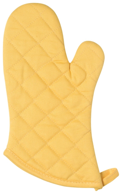 Lemon Yellow Cotton Oven Mitt