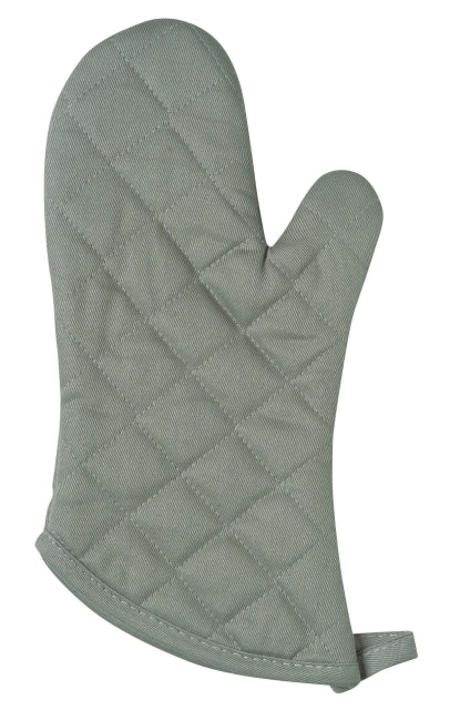 Thick Gray Oven Mitt