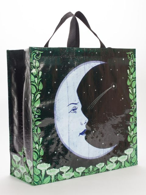 Large Moon Shopping Bag