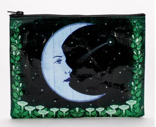 Moon Face Zipper Bag
