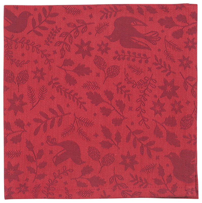 Red Wonderland Cotton Napkin