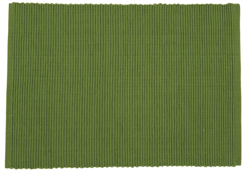 Fir Green Ribbed Placemat