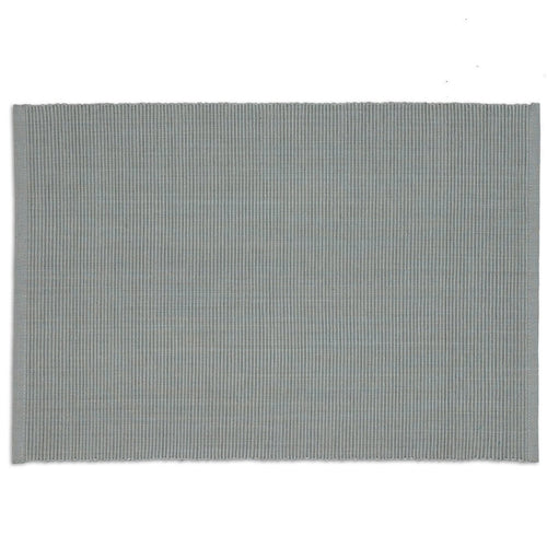 Gray Ribbed Placemat