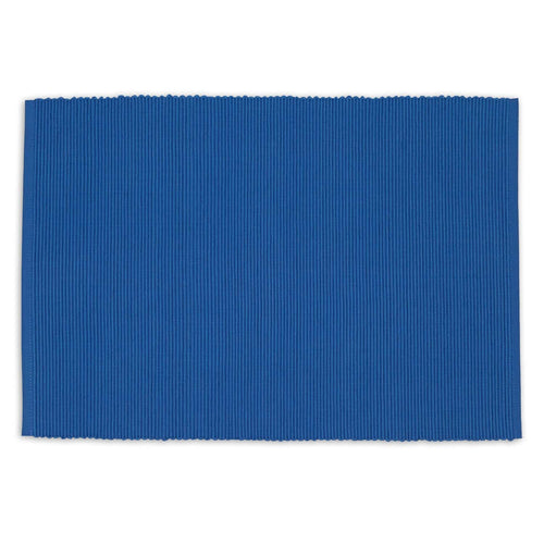 Blue Ribbed Placemat