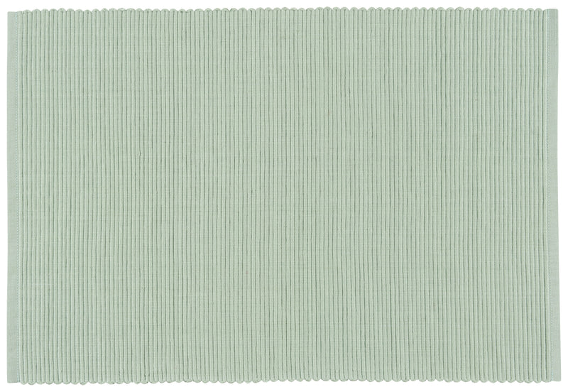 Sage Green Ribbed Placemat