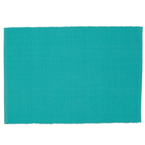 Turquoise Ribbed Placemat