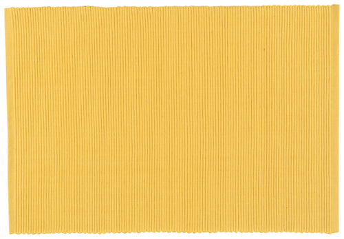 Yellow Ribbed Placemat