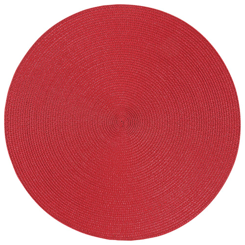 Chili Red Round Placemat