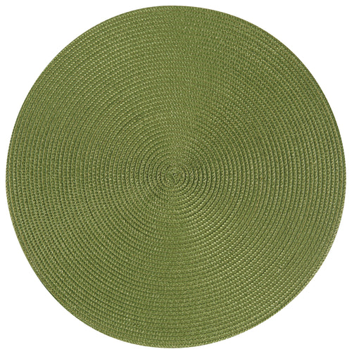 Fir Green Round Placemat