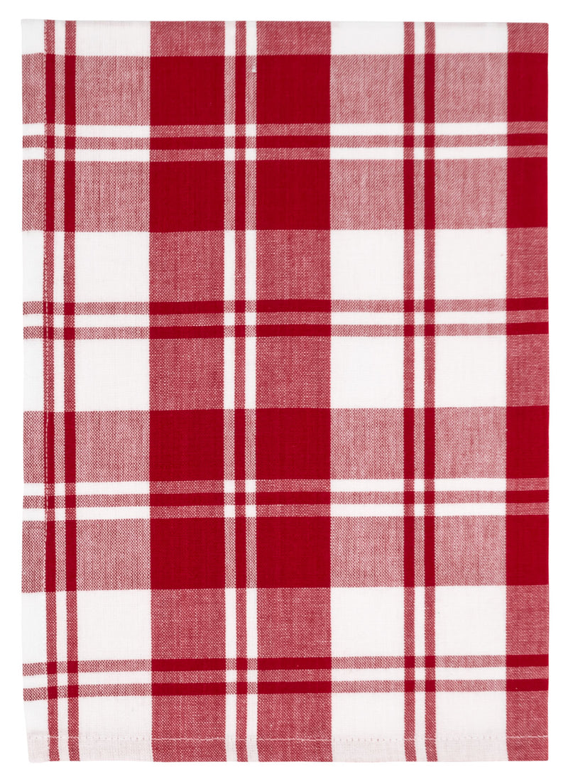 Red French Country Cotton Towel