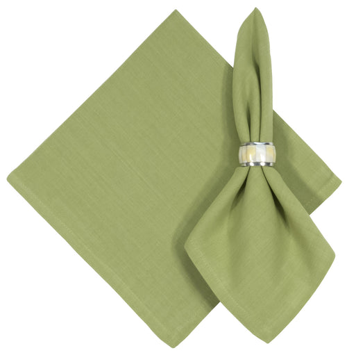 Solid Sage Green Cotton Napkins