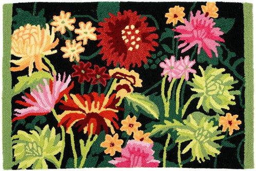 Flower Garden Kitchen Rug