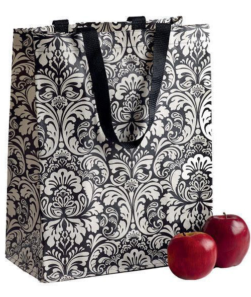 Damask Shopping Tote