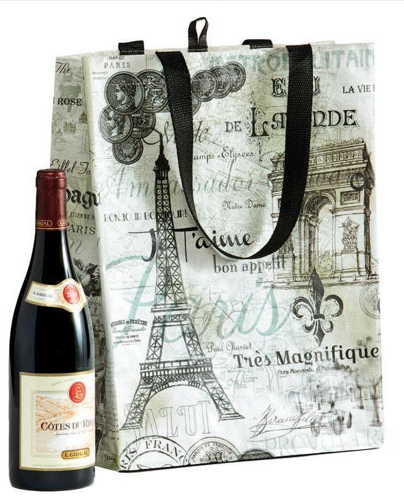 Vintage Parisian Shopping Bag