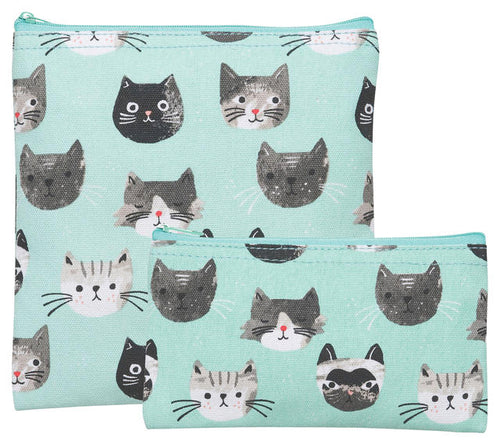 Cats Snack Bags Set of 2